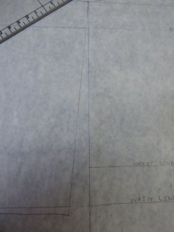 Straightened out side seam
