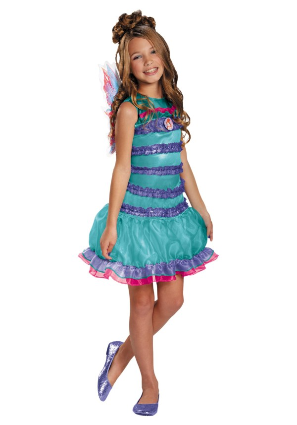 Child Winx Club Classic Bloom Costume - Halloween Costumes