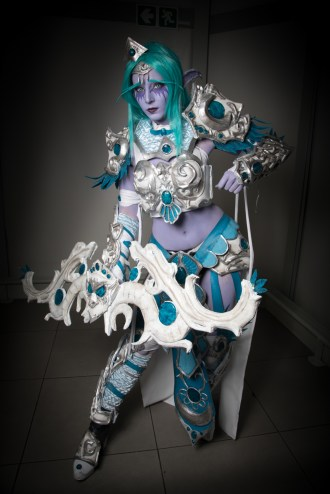 Cosplayer: @septikcosplay Character: Tyrande Whisperwind From: Warcraft Photographer: @cosweplayproject