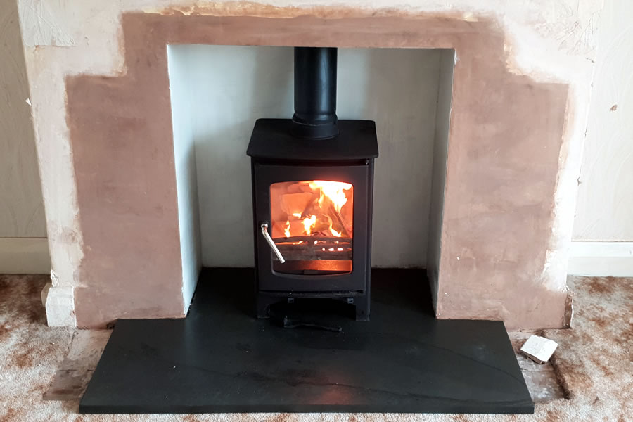 Hetas Woodburner installation in Minehead