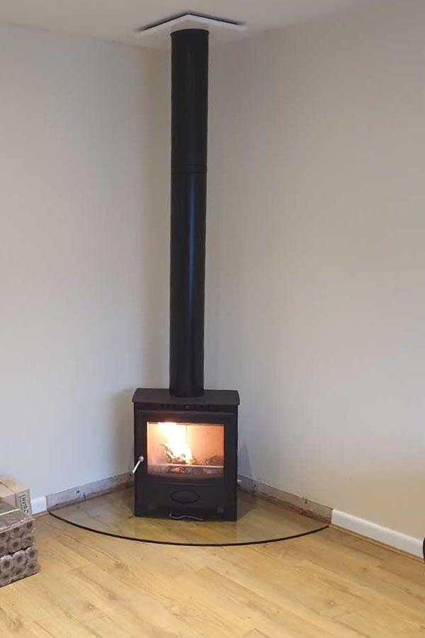 HETAS Twinwall chimney installers in Bridgwater