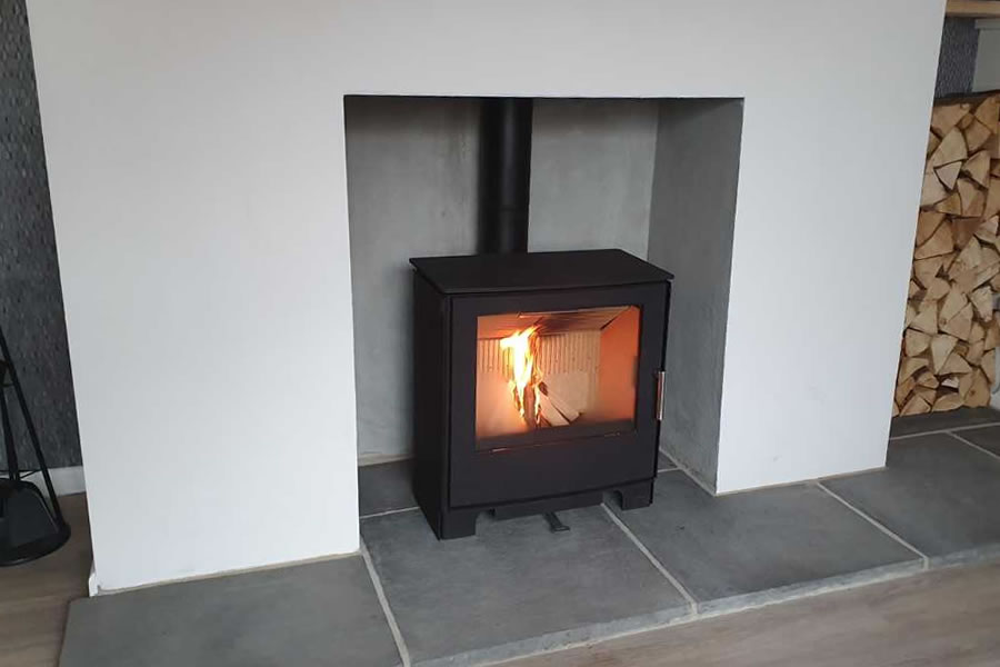 Mendip Woodland Convectjon Woodburner Installation Burnham-on-Sea