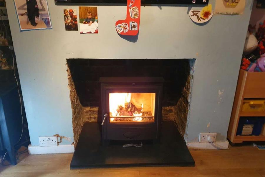 Woodburner Installation in Middle Chinnock near Yeovil