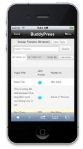 BuddyMobile - Forums