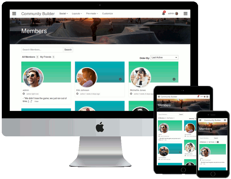 Community Builder от BuddyDev