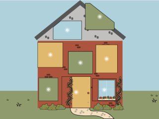 What are common measures for a home retrofit? Introducing our interactive Cosy House