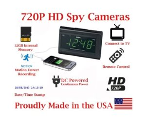 SecureGuard HD 720p USB Charger & Clock Radio Spy Camera Review