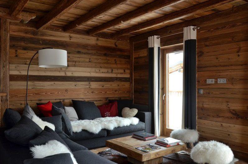Modern chalet interior design  Cosy NEVE Design
