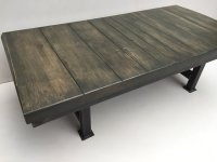 Reclaimed Wood Industrial Coffee Table | cosywood.co.uk