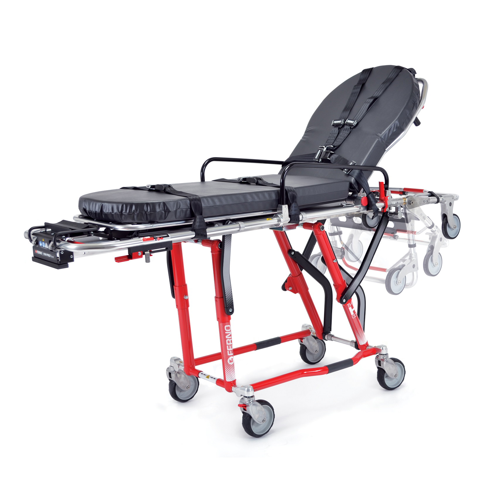 Stryker Stair Chair Ferno 93p Pro Flexx Ferno Ambulance Stretchers Cot