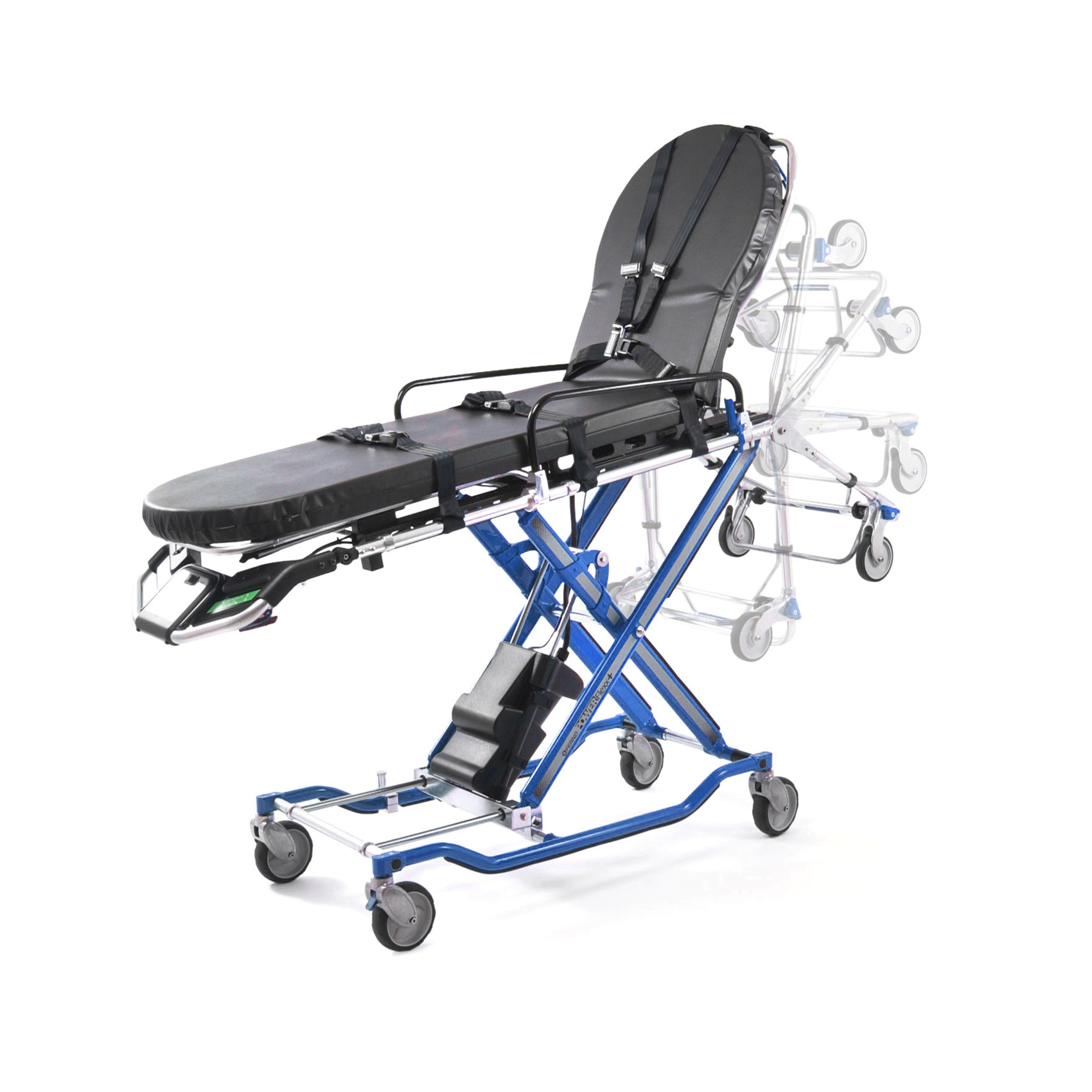Stryker Stair Chair Ferno Power Flexx Refurbished Stretchers And Stair Chairs