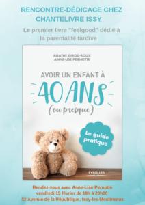 Avoir Un Enfant A 40 Ans : avoir, enfant, Pourquoi, Coécrit,