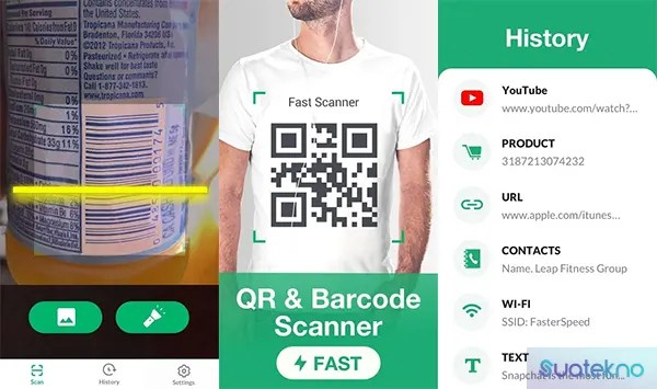 FREE QR Scanner and Generator - QR Code Scan App on Android and iOS