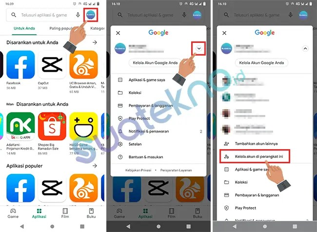 How to Delete Google Account Play Store Apps