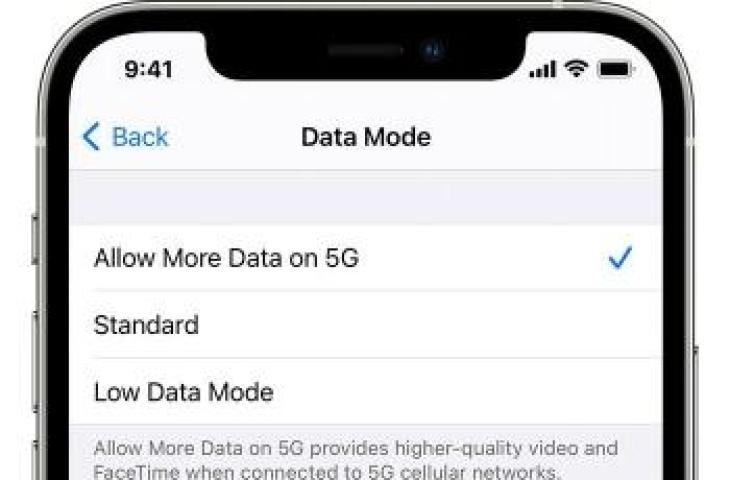 How to change 4G network to 5G. (Apple)