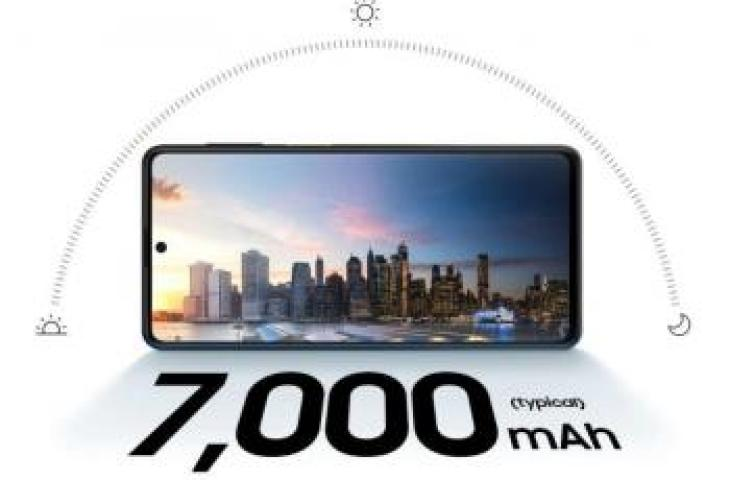 Specifications Samsung Galaxy M62 carries a 7,000 mAh battery. (Samsung)