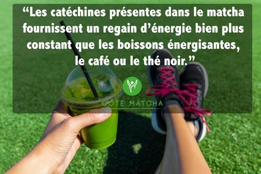 vertus thé matcha energy