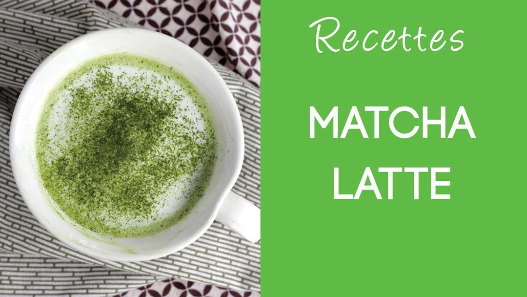Matcha Latte / Latte au thé vert matcha