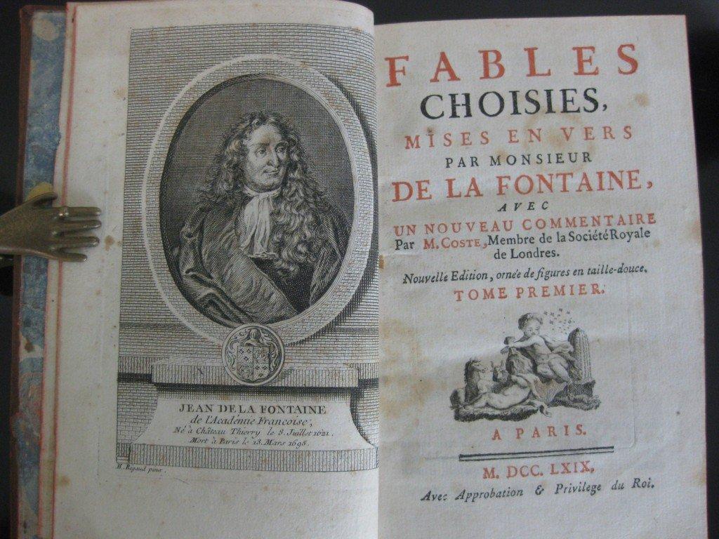 """Résultat de recherche d'images pour """"les fables de la fontaine livres"""""""