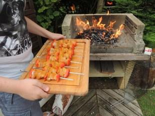 ...la partie barbecue