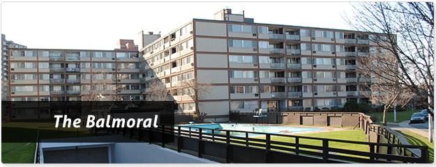 Cote Saint Luc Balmoral Apartments for Rent