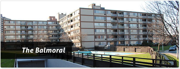Cote Saint Luc Balmoral Apartments for Rent
