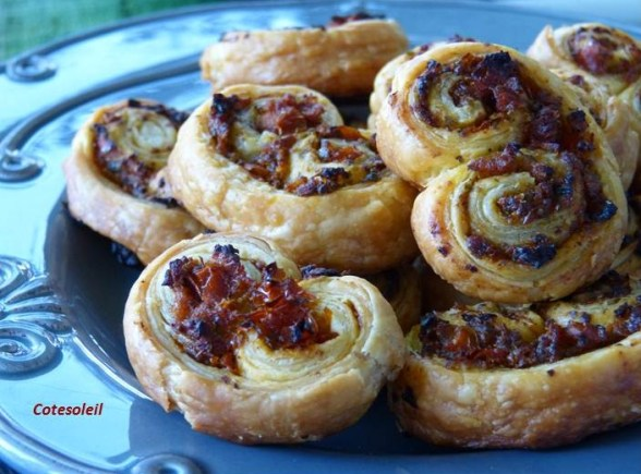 Palmiers caviar tomates moutarde old