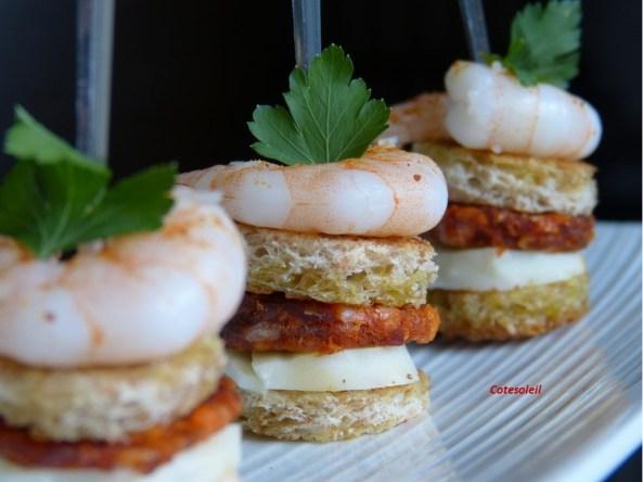 Minis hamburgers basques