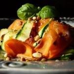 Ruban de légumes poelés