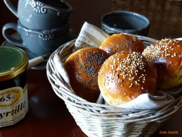 Runds petits pains danois