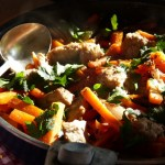 Poêlée de veau aux carottes