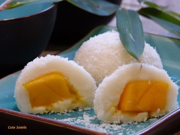 Perle de coco à la mangue