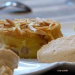 Clafoutis aux poires & crème caramel