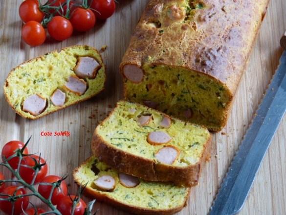 Cake aux saucisses de Fr