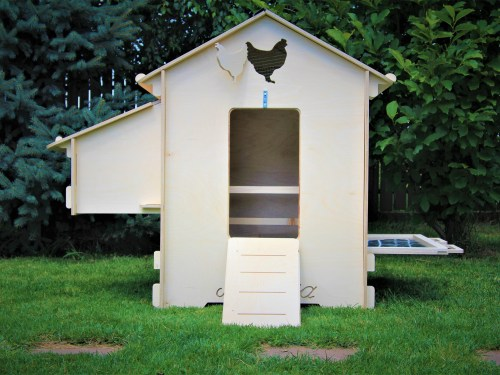 Chicken Wood Hen Coop