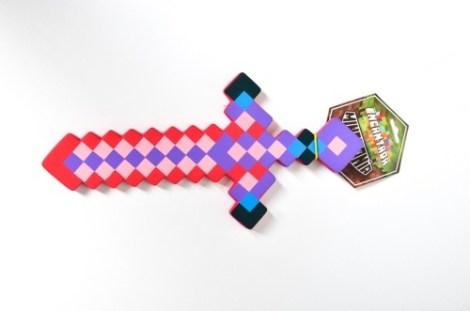Espada Chica Obsidiana Minecraft