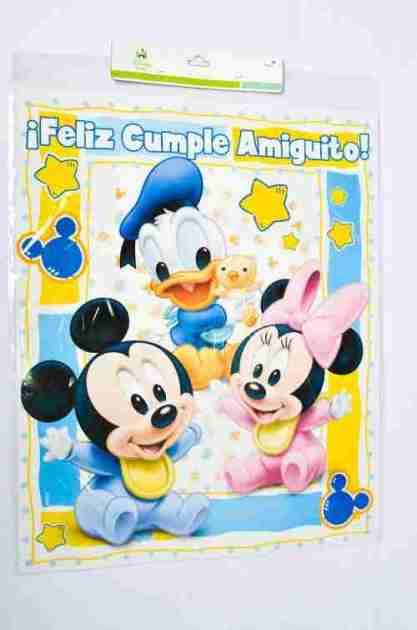 Afiche Minie y Mickey Bebe