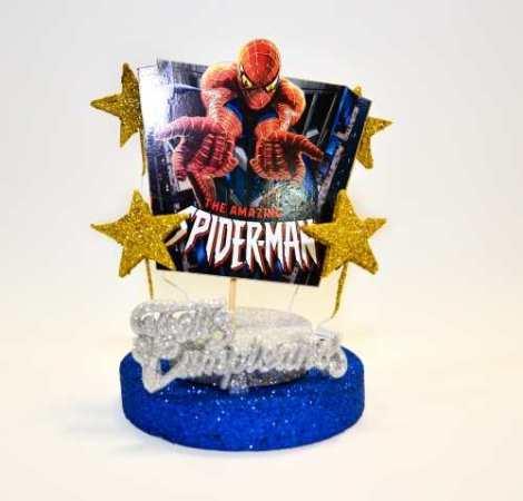 Adorno Torta Spiderman