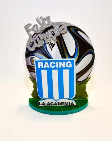 Adorno torta Racing