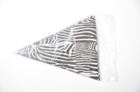 Banderin Papel Animal Print