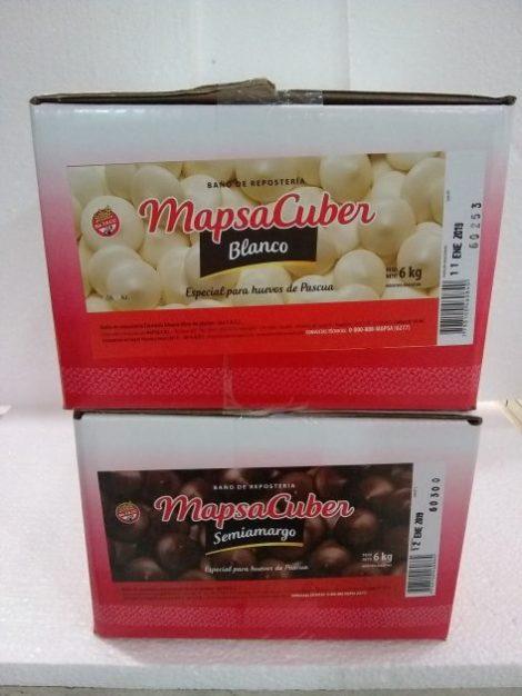 Chocolate Mapsacuber x caja
