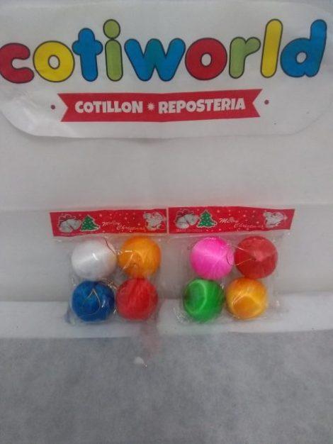 Bochas de colores 4 cm