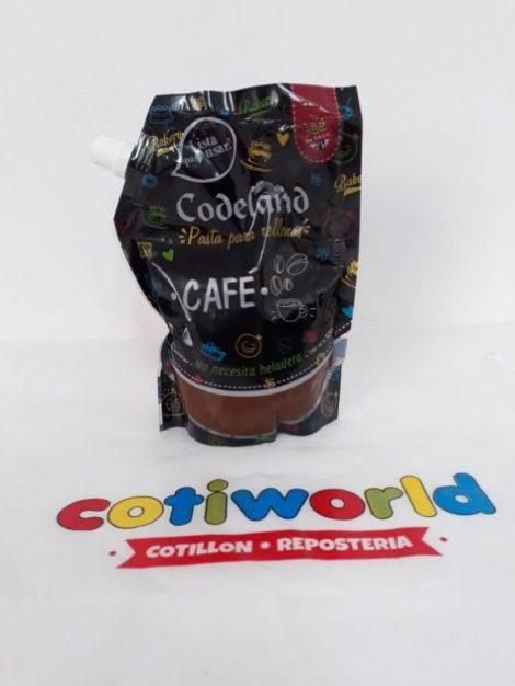 Pasta para relleno Codeland sabor: Cafe