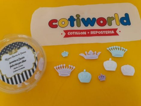 """Kit para huevo de pascua """"Coronas"""" (x20 unidades)"""