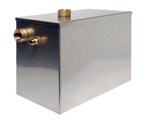 металлический резервуар с открытым верхом