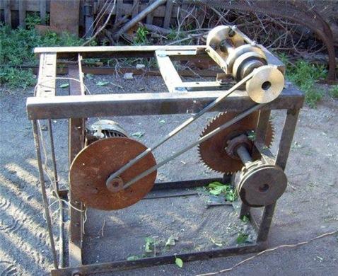 агрегат для измельчения веток