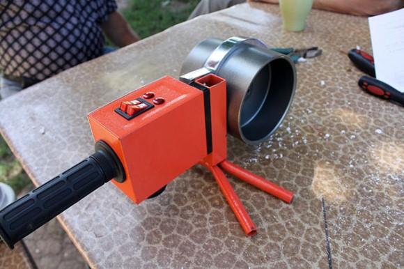 сварочный аппарат для изготовления разделителя