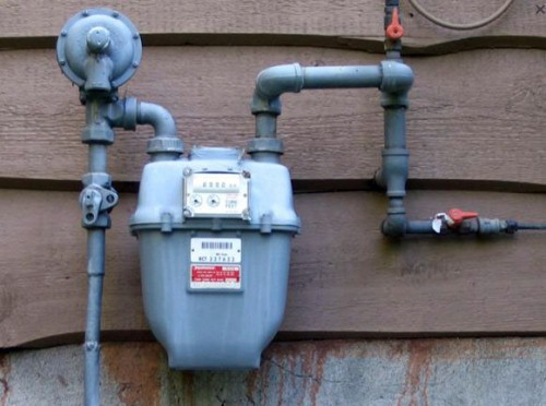 прибор учета природного газа