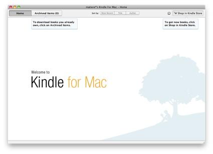米Amazon com、Kindle for Macをリリース - コトハノオト