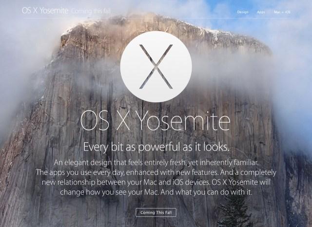 OS X Yosemite (10.10)
